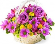 Flower-Gift-Basket